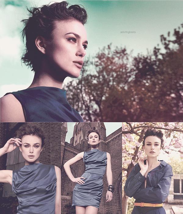 """Photoshoot; De nouvelles photos pour le magasine """"Flaunt"""" sont arrivées. Encore une fois, j'adore ces photos, les couleurs et Keira sont sublimes! ( bande-annonce de """"A Dangerous Method"""" )"""