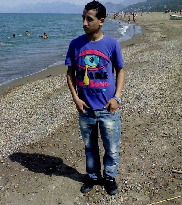 a la plage cette année