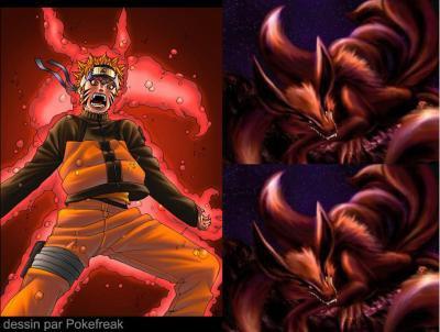 Cette fois c 39 est pour gaara naruto akkipuden demon renard - Naruto renard ...