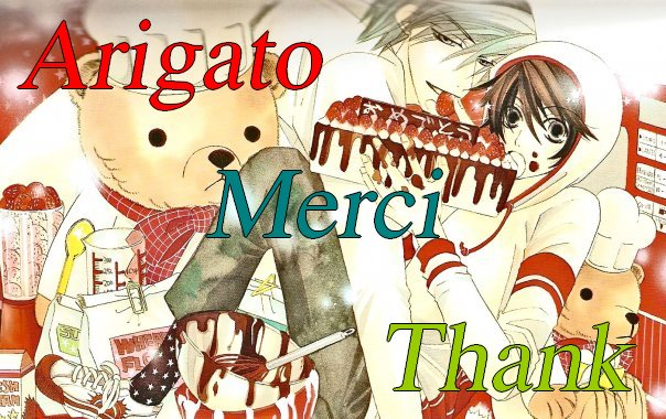 ARIGATO MERCI THANK