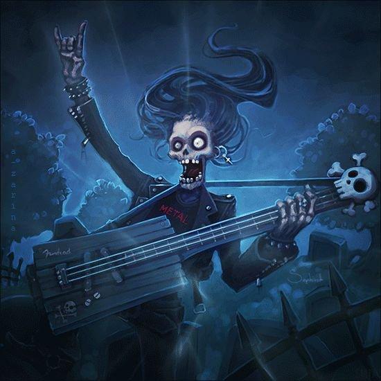Je peux être métal ossi lol....hahahahahaha