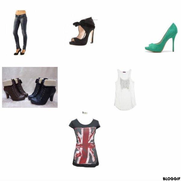 Voila des habits et des chaussures que vous allez surement adorer !!!!!