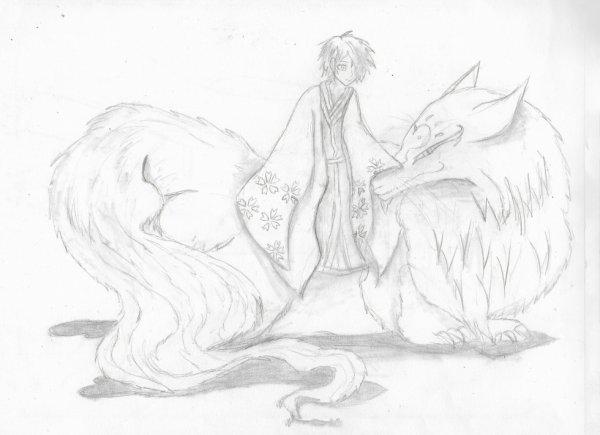 Natsume et Nyanko-Sensei