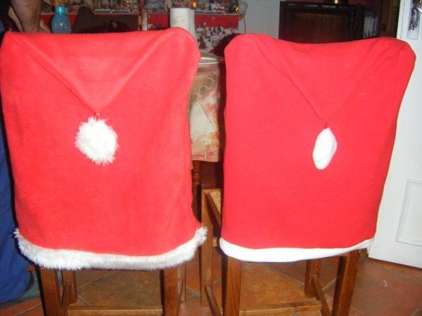 pour les chaises