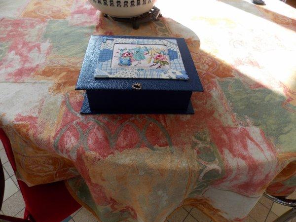 boite bleu