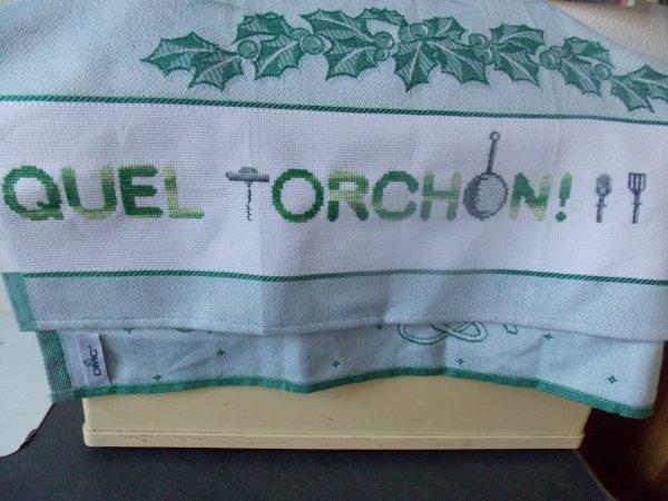 torchon  vert