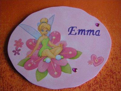 Plaque de Porte pour une petite Emma