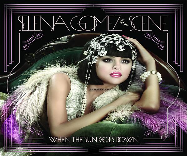 """* Voici la nouvelle pochette  """"When the Sun Goes Down"""" du prochaine album de Selena . Comment trouvez -vous la pochette ? Aimez-vous?.*"""