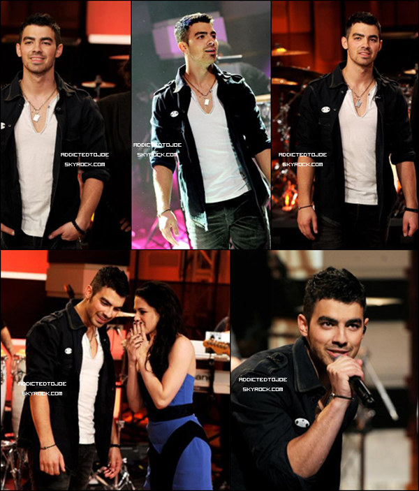 """3 novembre 2011 : Joe a participé à l'émission """"Tonight show Jay Leno"""" et y a interprété hier """"Just in love"""". Si vous souhaitez voir la vidéo, cliquez sur l'image !"""