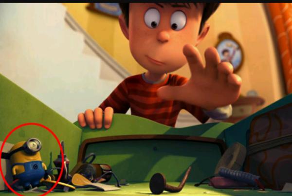 Vous saviez qu'il y avait un minion dans le lorax