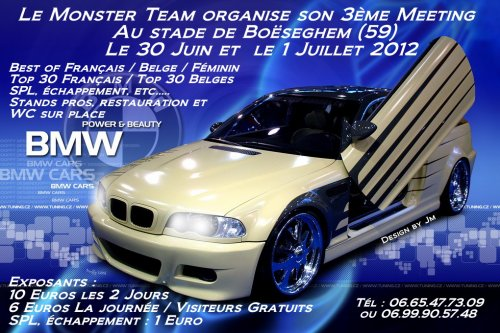 3 eme Meeting Monster Team