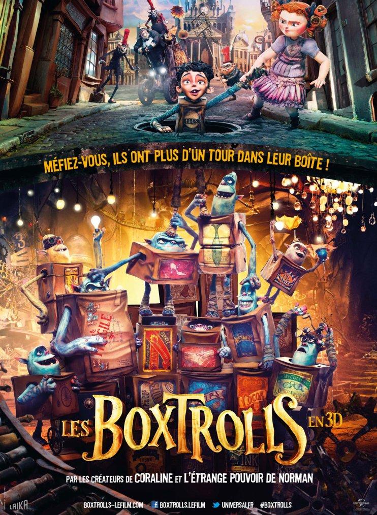 Ciné rural le 12 novembre : Les Boxtrolls