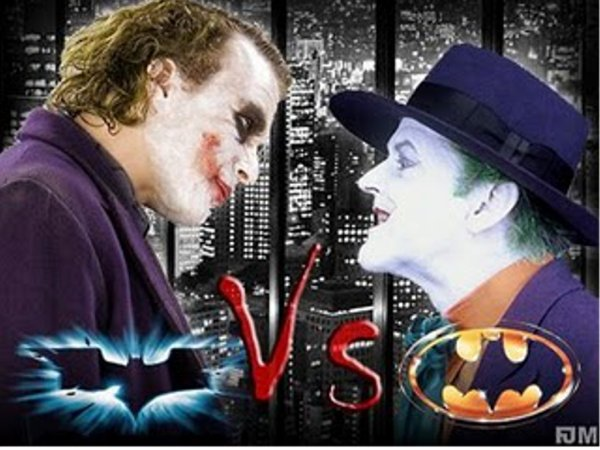 HEATH LEDGER vs. JACK NICHOLSON
