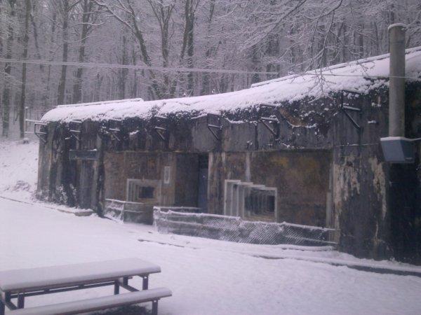 Le Michelsberg sous la neige