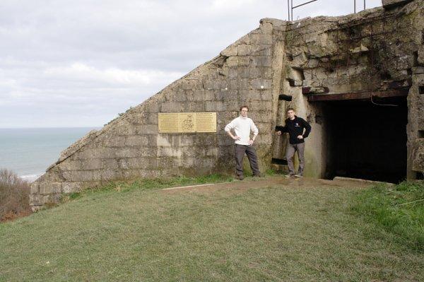 """L'un de X19 et l'autre de A22 en inspection sur le """"Mur de l'Atlantique"""""""