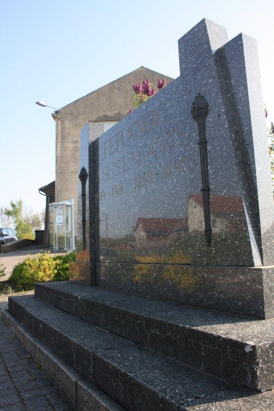 Commémoration à Férange ce 07 mai