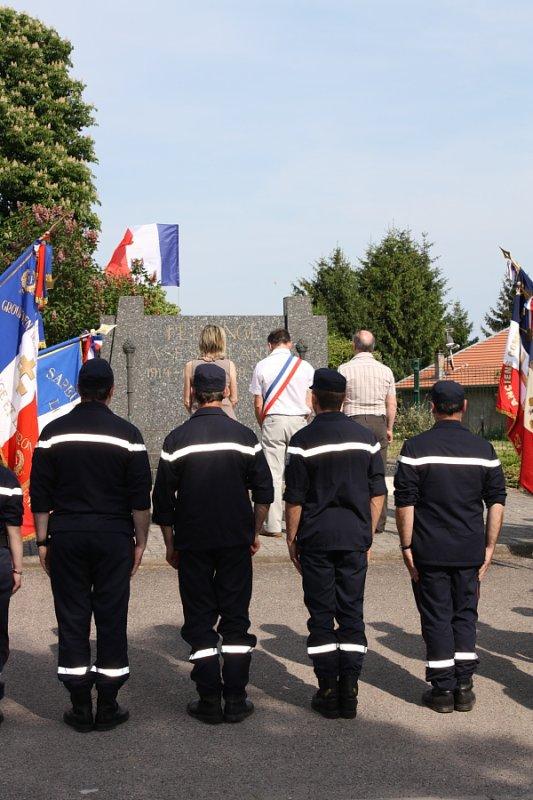 Cérémonie du 07 mai à Férange