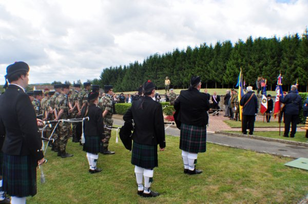 Commémoration du 18 juin à Dalstein