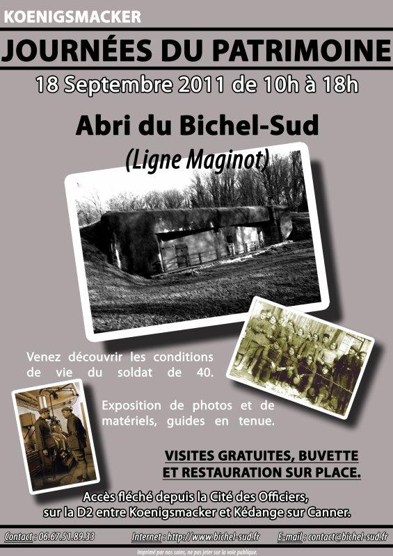 Rendez-vous au Bichel-Sud dimanche 18 septembre !