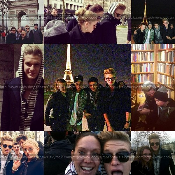 Cody loves Paris.Or..Paris loves Cody ?