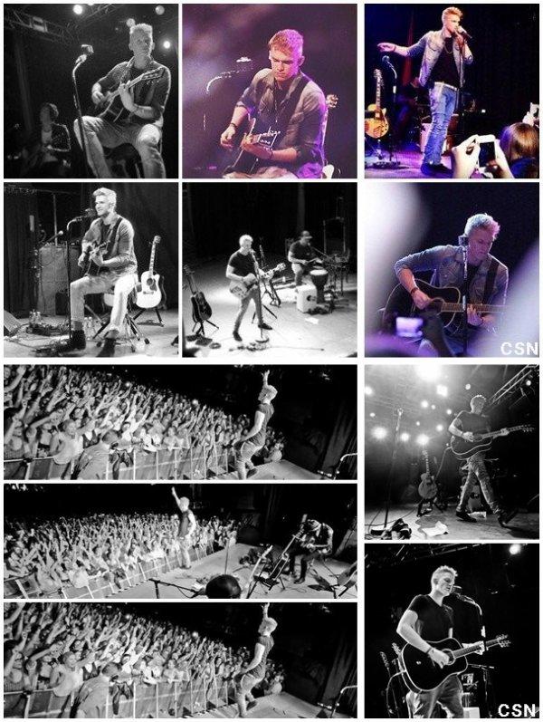 2ème concert de sa tournée européenne!