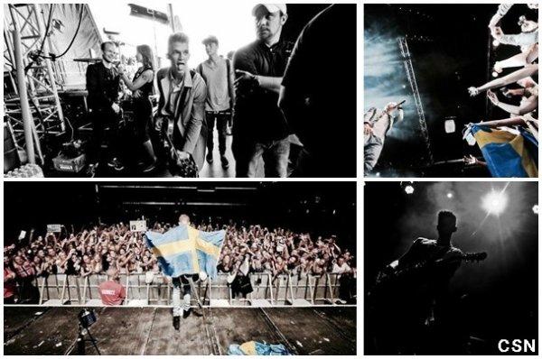 4ème concert de sa tournée européenne!