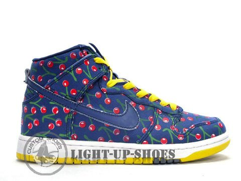 promo code cfc96 7ff94 Nike Dunk High Skinny Fabric Pack Paule Marrot Concord Womens Shoes Hot  Selling