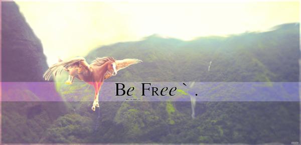 Be free <3