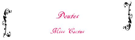 One-Shot n°80 de Miss Cactus