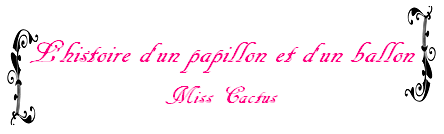 Ficlet n°15 de Miss Cactus
