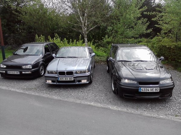 mes 3 voiture