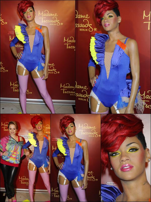 - Une nouvelle statue de cire pour Rihanna , T'aime ?-