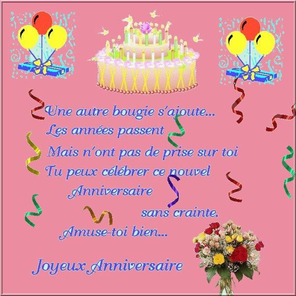 joyeux anniversaire lettre JOYEUX ANNIVERSAIRE JOSY !   moi tout simplement joyeux anniversaire lettre