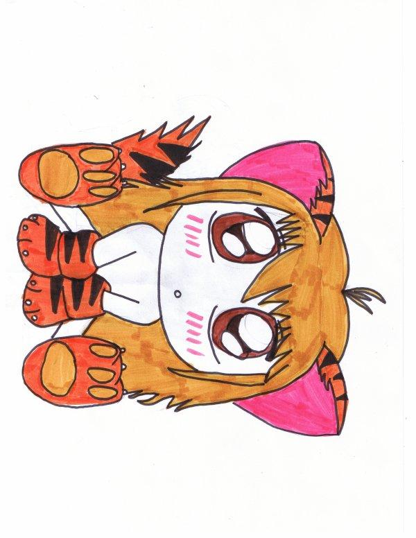 petit chat tigrer <3<3