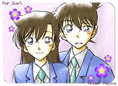 detective conan alias shinishi kodu kiet devenu petit et son ami denfance ran mourri