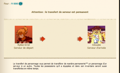 Transfert ! :) Nouveaux arrivants