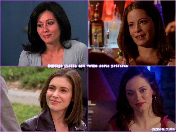 Sondage:Quelle est votre soeur préférée dans la série et pourquoi?