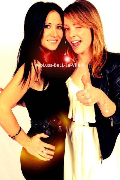 Dounia Coesens et Fabienne Carat ●