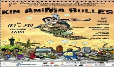 Du 18 au 29 octobre: 1ère Edition du festival « Kin anima Bulles » à Kinshasa