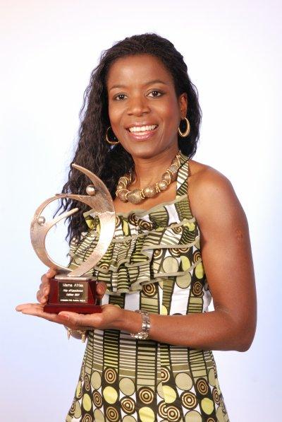 Stéphanie Manfroy lauréate du Prix d'Excellence « Femme »