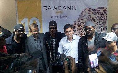 Rawbank fête ses 1O ans  avec les P-Square à Kinshasa