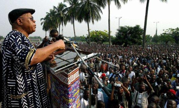 """RDC: Etienne TSHISEKEDI: """"La rencontre avec F.Hollande n'est pas une victoire politique (...)"""""""