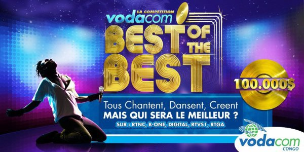 «Vodacom  Best of the best »: meilleurs talents congolais en exergue