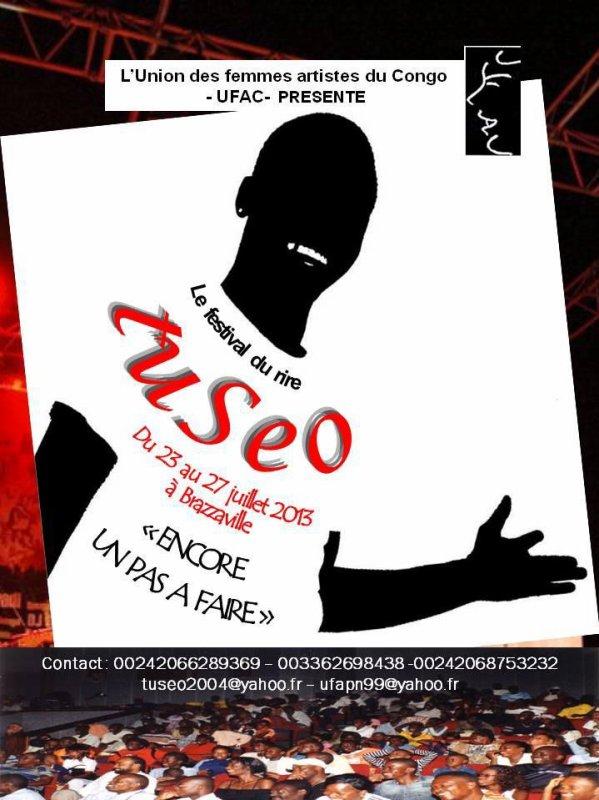Juillet de fou rire: Toseka à Kinshasa, TuSeo à Brazza