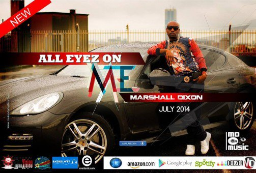Marshall Dixon lance son single 'All eyez on me""