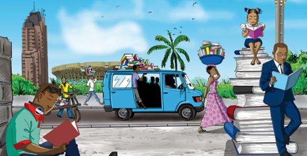 Les livres en fête à Kinshasa