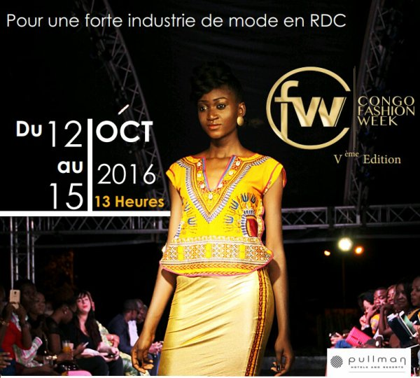 Mode: Congo Fashion Week 5 s'ouvre à Kinshasa