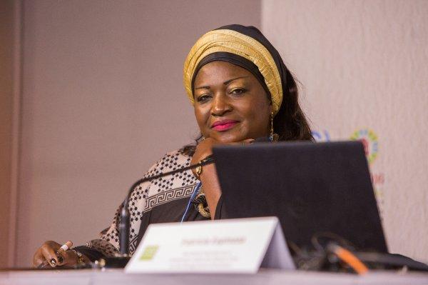 Céleste Ketcha-Courtes : « Les femmes africaines sont prêtes à faire des objectifs de l'accord de Paris une réalité (…) »