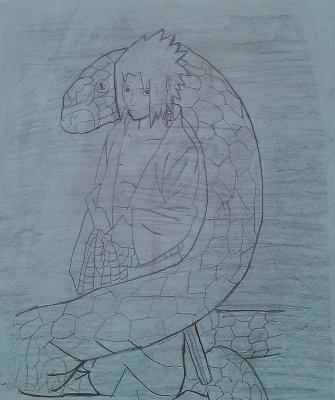 Sasuke et orochimaru