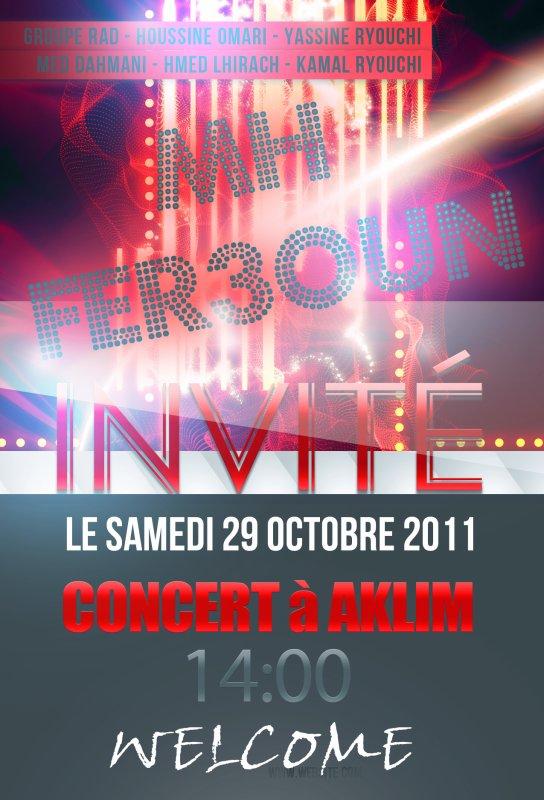 Mh Sur Concert Le Samedi 29 Octobre 2011